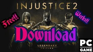 Injustice 2: Legendary Edition - Download for free for PC [ Update 11 + All Dlc ] [Torrent l]