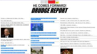 The Drudge Report SHakedown 6/11/2013