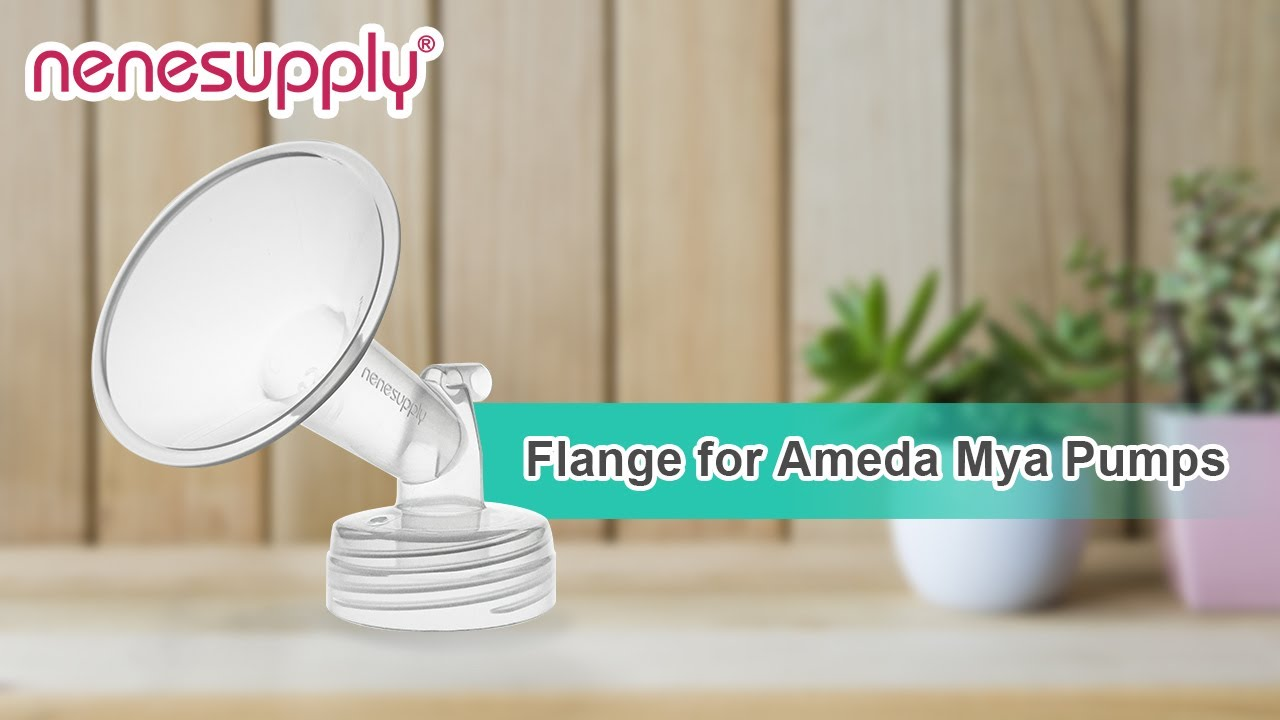 Nenesupply Compatible 19mm Flange for Ameda MYA Ameda MYA Pro Breastpumps Not Original Ameda Pump Parts Replace Ameda MYA Flange Not Original Amede MYA Pump Parts Work with Ameda MYA Valve