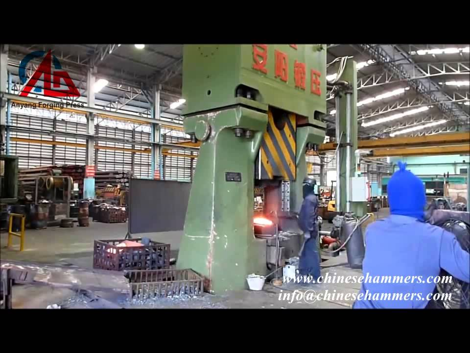 forged automobile parts by 100KJ cnc hydraulic die forging hammer,drop  hammer,forging machine