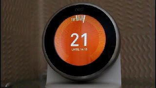 How to use NEST Thermostat 3rd Generation - features and functions - Demo