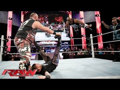 The Dudley Boyz vs. Bo Dallas & Curtis Axel: Raw, January 25, 2016