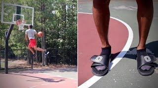 Doing Every Dunk 5 Times In Slides Video