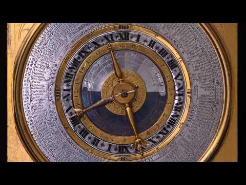 David Weber, Gilt-Brass and Silver Table Clock
