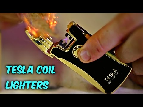 Tesla Coil Lighters Test