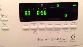 Whirlpool WWDC9440 6th sense washing machine review