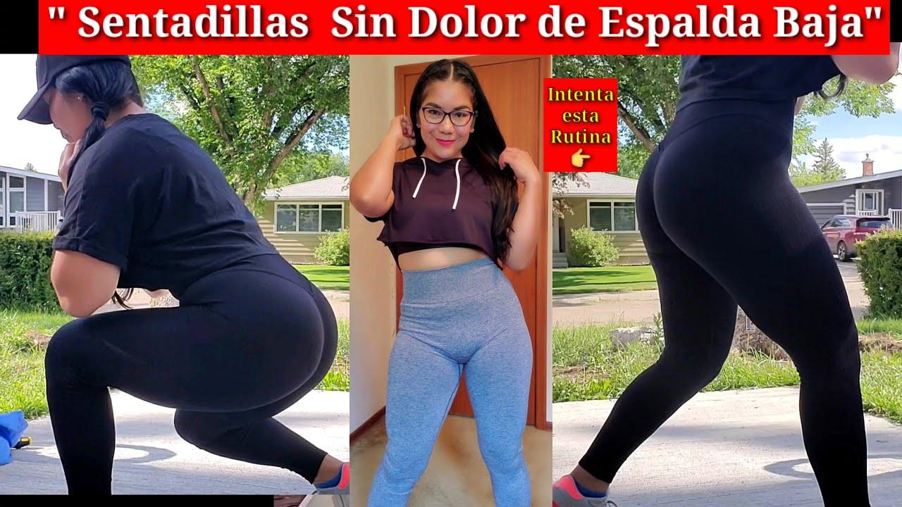 """""""Sentadillas Sin DOLOR De Espalda Baja  Intenta este EJERCICIO """""""