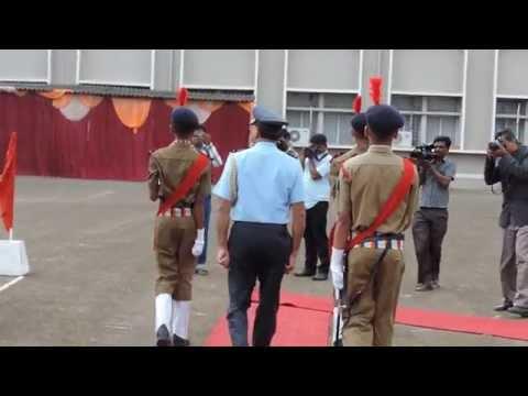 Sainik School Bijapur, Anniversary, Guard of Honour , 16 Sept 2014