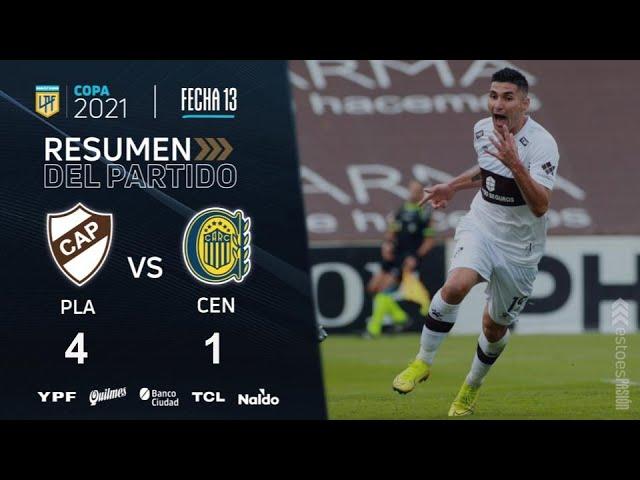 Copa De La Liga | Fecha 13 | resumen de Platense - Rosario Central