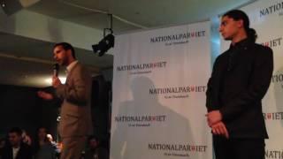 Nationalpartiet - Kasif Ahmad & Yahya Hassan