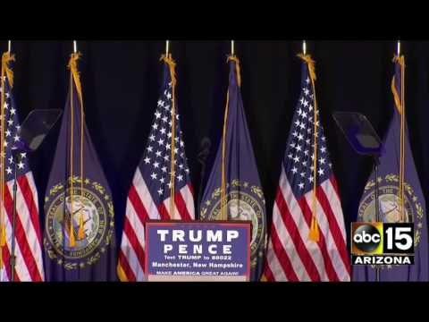 FULL: Donald Trump campaign event - Manchester, New Hampshire