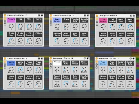 Free Downgrade turns Ableton Live into lo-fi wobbly vaporwave tape