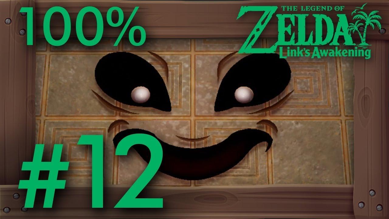 Zelda Link's Awakening (Switch): 100% Walkthrough Part 12 - Face Shrine (Dungeon Level 6) thumbnail