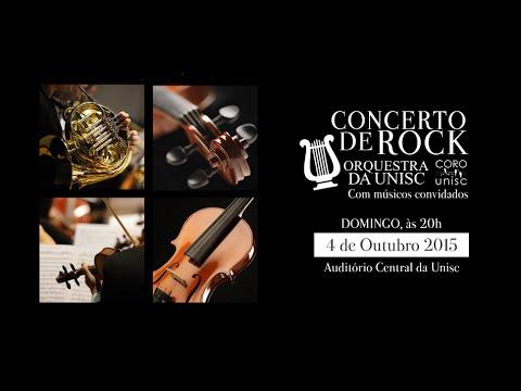 Concerto de Rock da Orquestra da Unisc