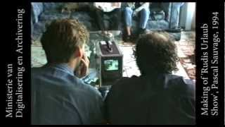 FilmPartners, making of 'Rudis Urlaub Show', met Pascal Sauvage op Mallorca, 1994