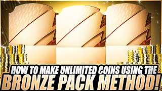 HOW TO MAKE UNLIṀITED COINS IN FIFA 22 USING BRONZE PACK METHOD! EASIEST WAY TO MAKE COINS ON FIFA!