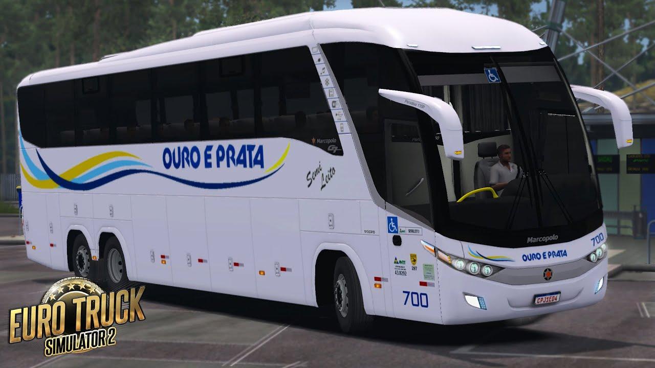 ETS 2 - Mod Bus | Ouro e Prata | Paradiso G7 1350 | São Paulo/Palmas