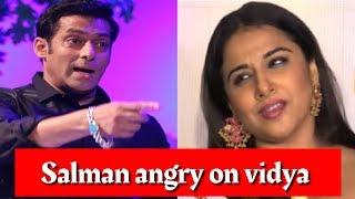 salman khan angry on vidya balan for marige  full comedy