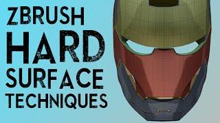 ZBrush Hard Surface Techniques I