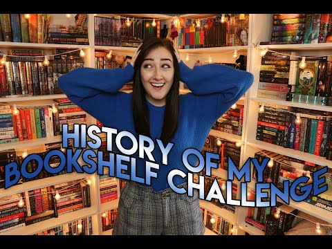 HISTORY OF MY BOOKSHELF CHALLENGE (original). from YouTube · Duration:  24 minutes 24 seconds