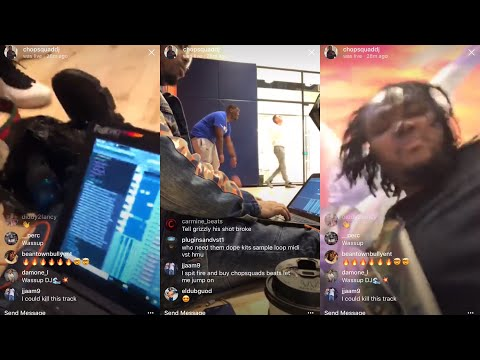 Chopsquad DJ Makes a Beat on Basketball Court feat Tee Grizzley