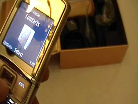 Nokia 8800 Sirocco Gold Custom Versace by SuperRey