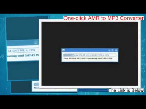 One-click AMR to MP3 Converter Download Free (Risk Free Download 2014)