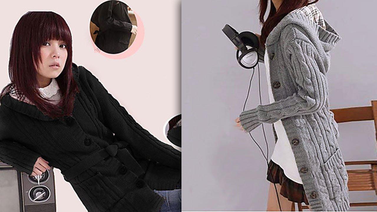 Вязание длинных кардиганов фото Вязаные кардиганы для женщин. 216 фото модных