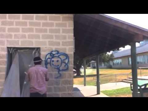 www.SandBlastPaint.com San Antonio Graffiti Removal