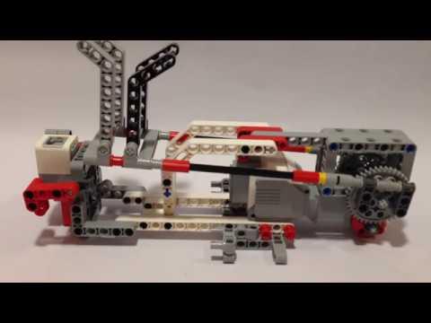 Lego Mindstorms Ev3 Catapult Building Instructions Youtube