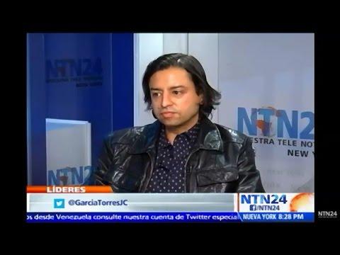 Interview with Artist Jamie Martinez on  Nuestra Tele Noticias 24
