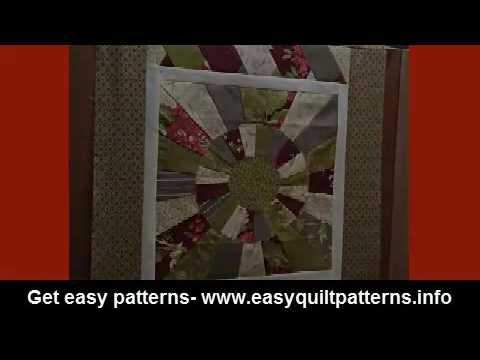 simple quilting block patterns easy dresden quilt pattern