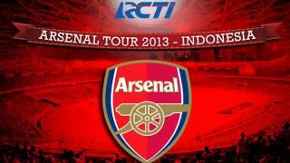 Arsenal Tour 2013 - Indonesia (Stadium Entrance Music)