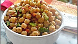 Chickpeas Salad | Chole Salad