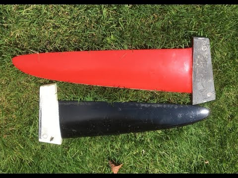 WINDSURF FINS DIY; The mold, the lay ups the tuttle (the easy way)