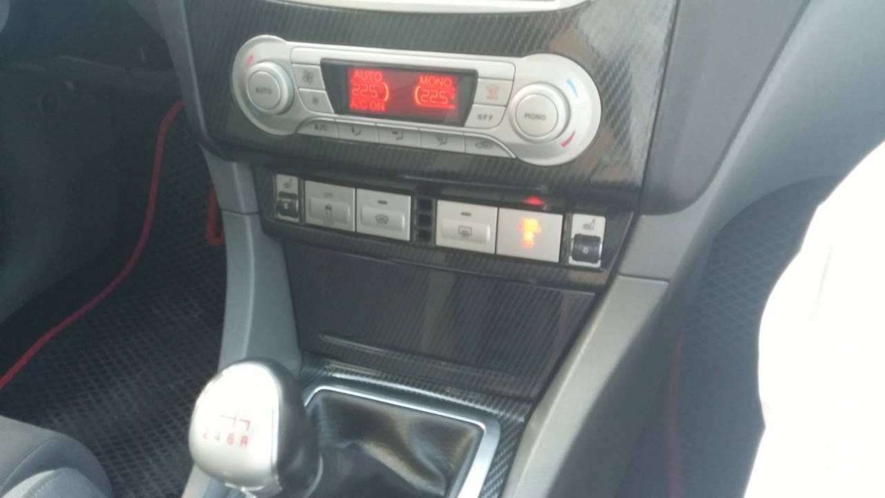 отключить сигнализатор безопасности ремня ford s-max