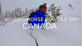 Skiing Powder in Kicking Horse CANADA   VLOG 78
