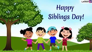National siblings day 2019: is observed on april 10 every year in certain parts of the united states honouring relationships siblings. m...