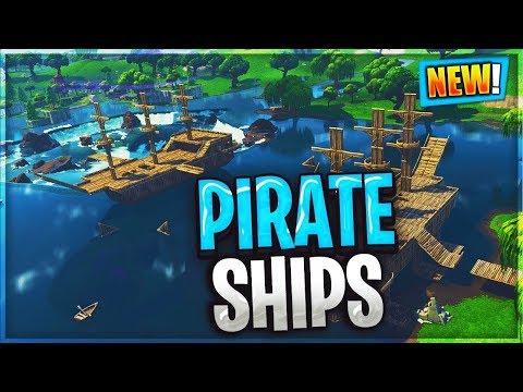 *NEW* Port-A-Pirateship Fortnite!!