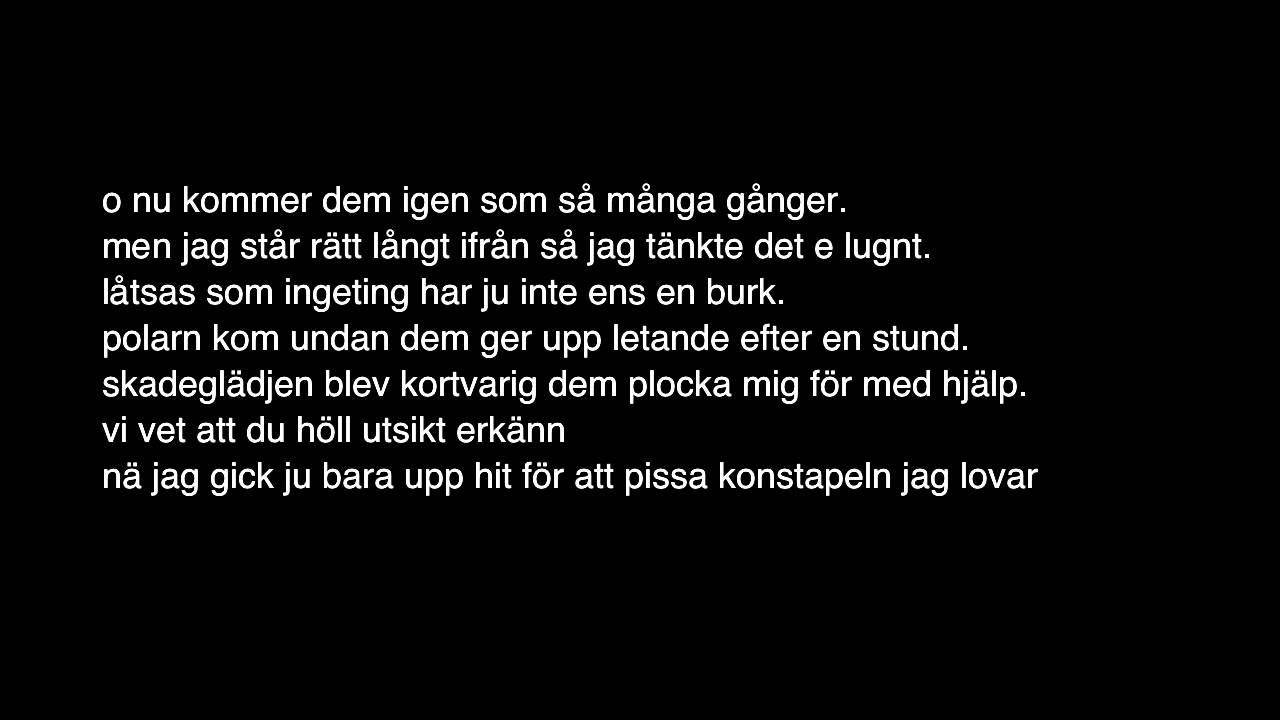 Jag Lovar Lyrics
