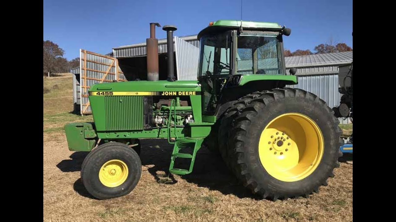 1991 John Deere 4455 2wd With 3826 Hours Sold On Missouri