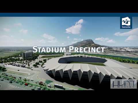 North Queensland Stadium Precinct - Flyover