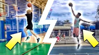 Trying The Craziest Dunks Ever Done On 10 Feet!