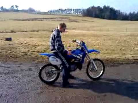 2003 yz 85 big wheel start up - YouTube