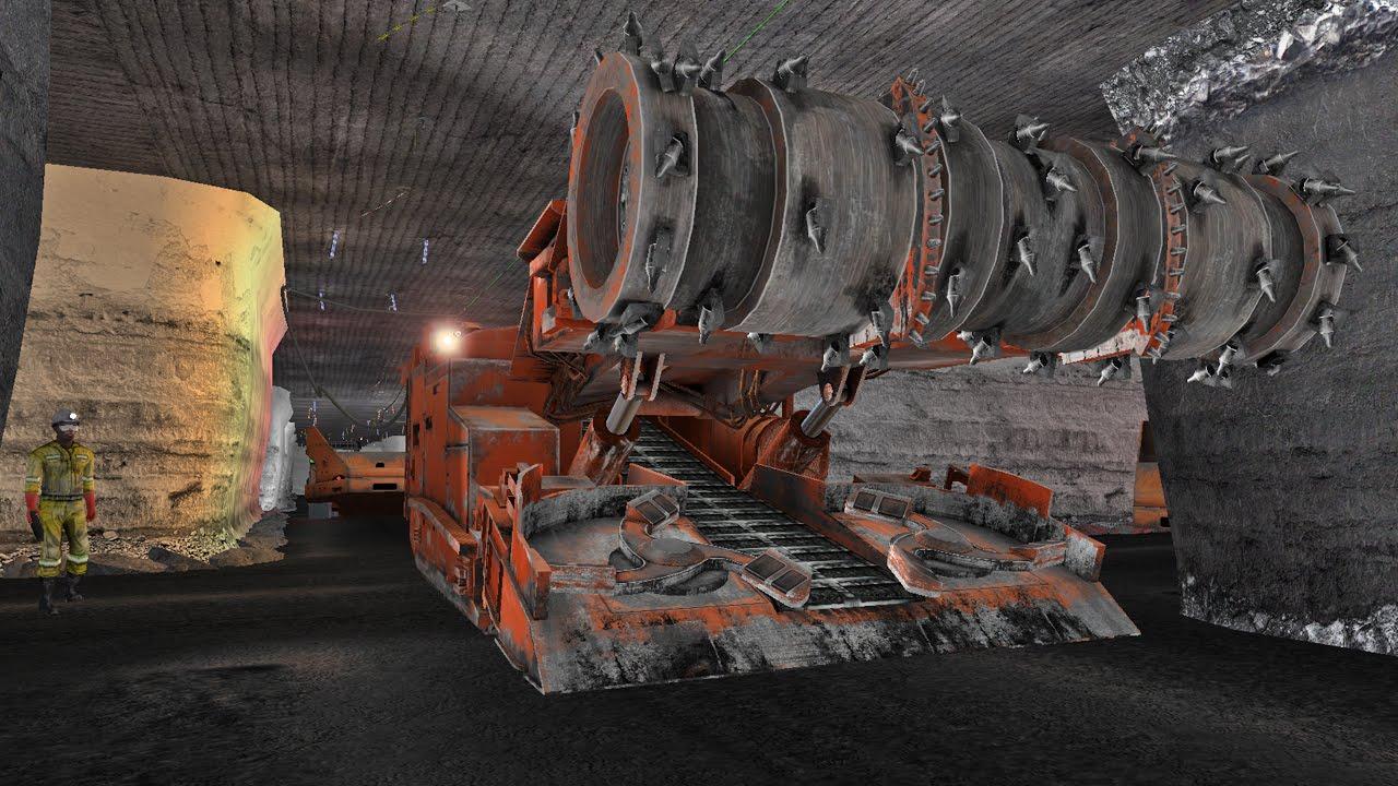 Cybermine Soft Rock Mining Training Simulators Youtube