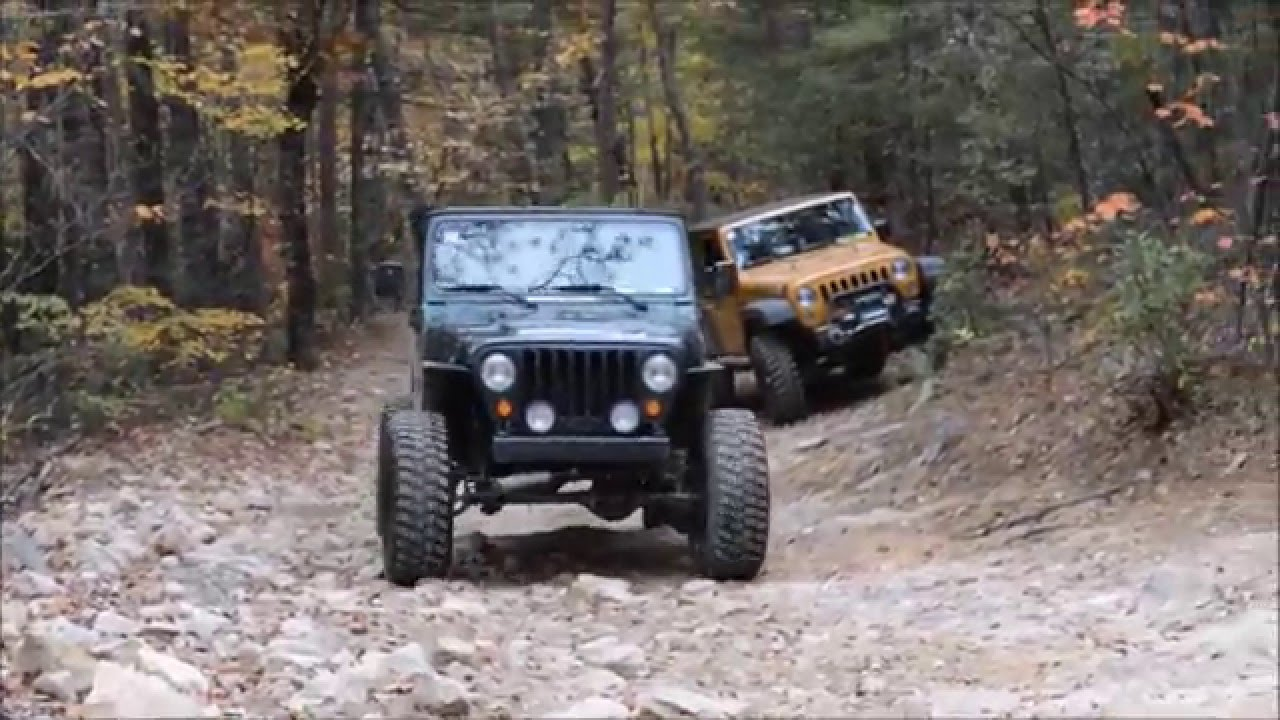 Jeep Wrangler Jk And Tj Off Road Brown Mountain Youtube