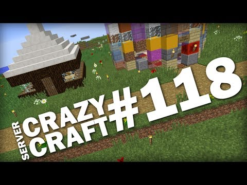 MINECRAFT - THIS LITTLE HOUSE - CRAZY CRAFT #118 - Lets Play - play.buzzplex.net