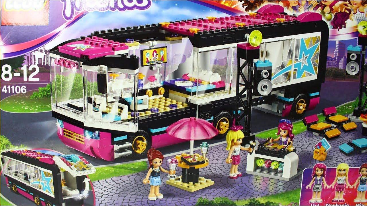Pop Star Tour Bus Wóz Koncertowy Gwiazdy Pop Lego Friends