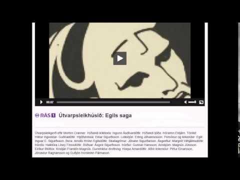 Útvarpsleikhúsið: Egils Saga, þriðji og síðasti hluti. 49:20 mín.