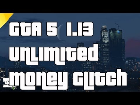 """gta-5-online-new-unlimited-""""money-glitch""""-after-patch-""""1.13""""-no-wait-time"""